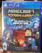 Minecraft: Story Mode The Complete Adventure Episodes 1-8 PS4 **BRAND NEW**