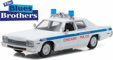 GREENLIGHT The Blues Brothers 1975 Dodge Monaco Chicago Police 1/24 Car 84012