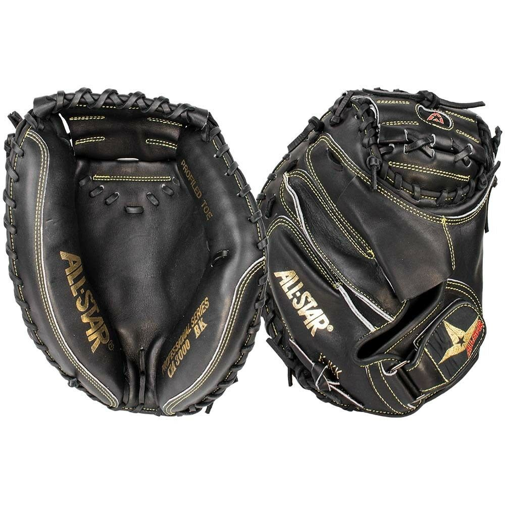 All-Star Professional 35  Baseball Catcher's Mitt CM3000BK-35