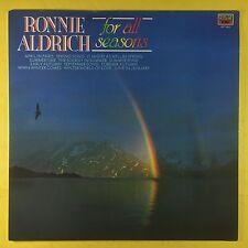 Ronnie Aldrich - For All Seasons - EMI MFP-5800 Ex+ Condition Vinyl LP