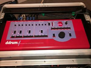 Details about Ddrum 4 by Clavia Electronic Drum Live Kit complete with rack  and triggers