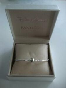 Details about Disney Parks PANDORA Wonderful World Cinderella Castle  Bracelet 19 cm 7.5 inches