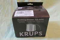 Krups Stainless Steel Milk Frothing Pitcher Espresso Machine 20oz Xs 5020