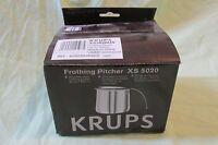 Krups Stainless Steel Milk Frothing Pitcher Espresso Machine 20oz Xs 5020