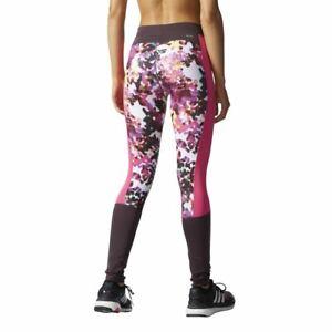 621541c76da83 adidas WOMEN'S GYM LEGGINGS TIGHTS TECHFIT RUNNING COMFY GIRLS ...
