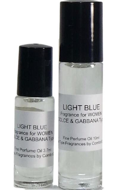 LIGHT BLUE by DOLCE & GABBANA Type for WOMEN 3.7ml Roll On Perfume Body Oil *NEW