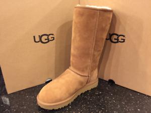 fd50d8cd000 UGG AUSTRALIA WOMENS Classic Tall 2 II boots chestnut 1016224 | eBay