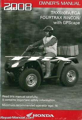 CV Boot Kit For 2006 Honda TRX680FGA FourTrax Rincon GPScape~All Balls 19-5007