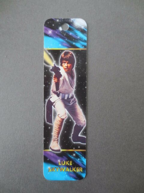 BOOKMARK STAR WARS Mark Hamill Photograph Luke Skywalker Antioch 1995