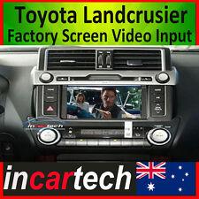 Toyota Landcrusier Prado A/V AV Video DVD GPS Navigation input to Factory Screen