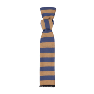 Men/'s Hackett London Deck Stripe Scarf in Periwinkle /& Marigold