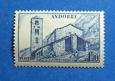 Stamps Hospitable 1944 Andorra French 1fr20c Scott# 86 Michel # 104 Unused Cs27645 Meticulous Dyeing Processes