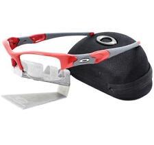 Oakley OO 9009-06 TRANSITIONS FLAK JACKET XLJ Infrared Clear Black Ir Sunglasses