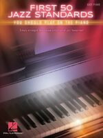 First 50 Jazz Standards You Should Play On Piano Sheet Music Easy 000196269