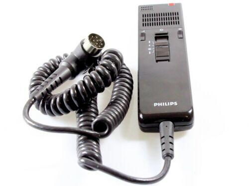 Philips LFH 0836 Mikrofon für Philips Diktiergeräte 10 poliger DIN Stecker