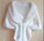 Women Faux Fur Shawl Stole Wedding Coat Wrap Shrug Scarf Evening Party Shawls