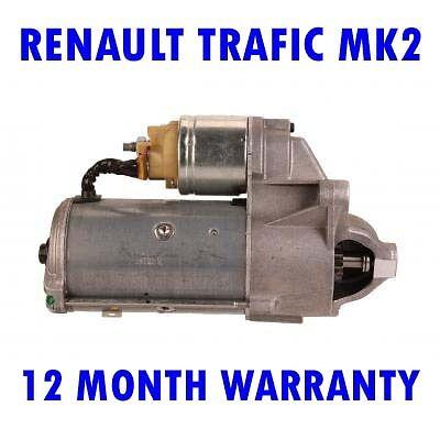 Renault trafic mk2 mk II 1.9 DCI 2001 2002 2003 2004-2015 starter motor