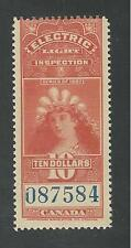 CANADA, SISSONS # R192 MNH ELECTRIC LIGHT INSPECTION