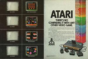 Atari Vintage 1982 Print Ad