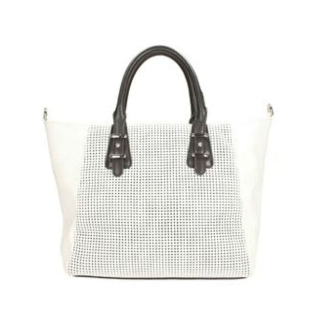 b0b8b123e91af Ladies Clarks White/black 2 in 1 SHOPPER Bag Style - Mahoe Bay White ...
