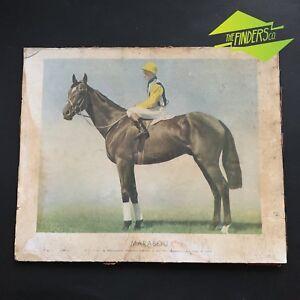 ANTIQUE-1935-MELBOURNE-CUP-WINNER-039-MARABOU-039-PHOTOGRAPHIC-PRINT