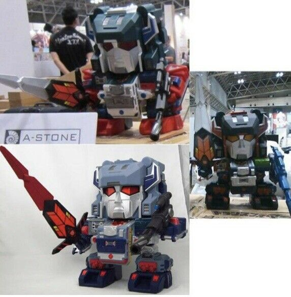 RARE WONDERFEST 2013 A STONE SET OF 3 SUPER DEFORMED TRANSFORMERS FORT MAX