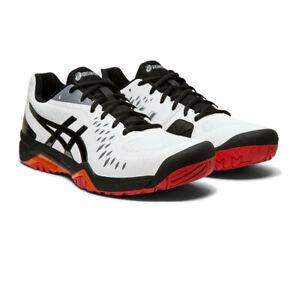 Asics-Homme-Gel-Challenger-12-Chaussures-De-Tennis-Noir-Blanc-Sport-Respirant