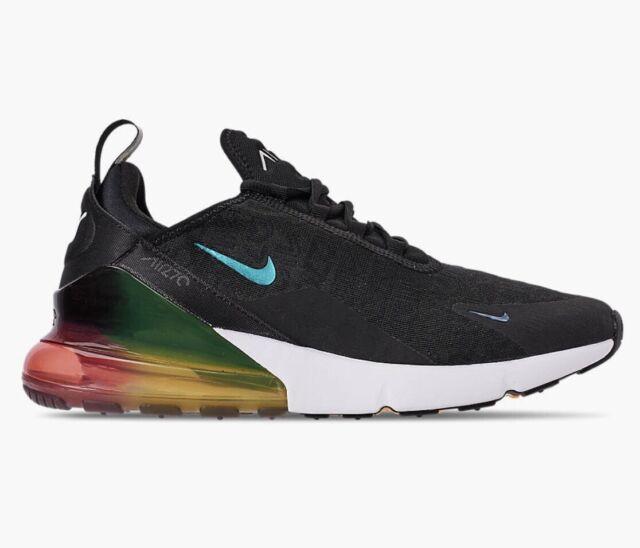 Nike Air Max 270 Men's Running Shoe Black Laser Orange Size 11 AQ9164 003
