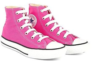 Converse-Chuck-Taylor-All-Star-Hi-Tops-Pink-All-Sizes-Womens-Sneakers-Shoes