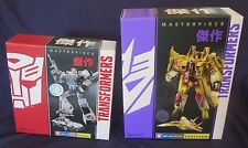 Transformers Masterpiece SUNSTORM MP-05 & PROWL MP-04 TRU Exclusive Decepticon
