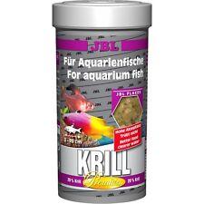 JBL Premium Krill Flakes 250ml Protein Rich Fish Flake Food