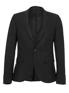 costume-veste-topman-skinny-fit-noire-motif-serpent-coupe-ajustee-slim-new