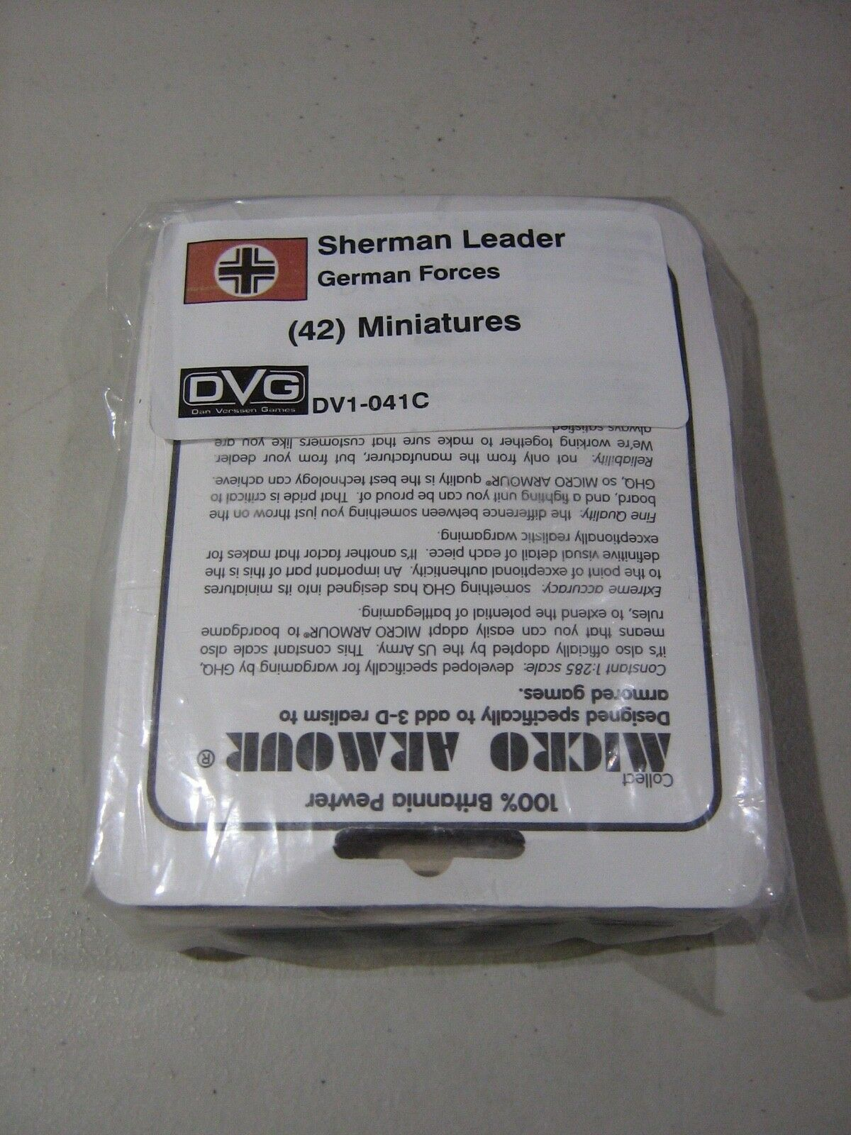 Sherman Leader German Miniatures (New)