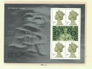 MGB23-Great-Britain-2000-Her-Majesties-Stamps-Minisheet-MUH