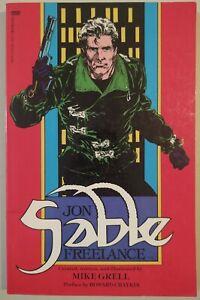 Jon-Sable-Freelance-TPB-contains-1-6-1st-print-1987-First-Comics