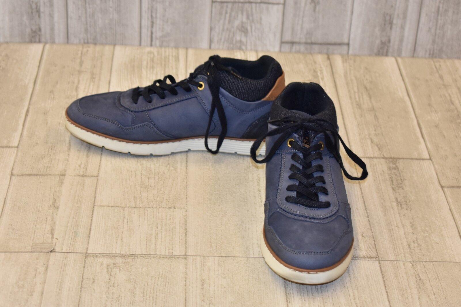 Steve Madden Baloo Low Top Sneaker - Men's Size 8, bluee