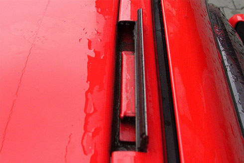 Roof Rack Beta 102 Aero 120cm Cross Bars Volkswagen Caddy Polo