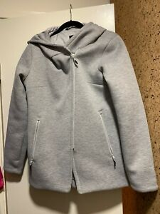 The North Face Women's Haldee Insulated Hooded Parka, Light Grey Heather, size M