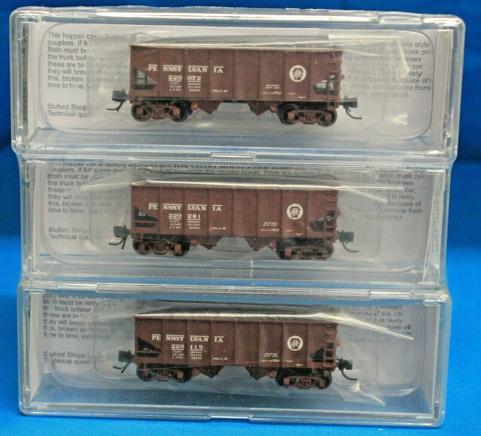 SCALA Nbluford negozi 60533 PENNSYLVANIA RR 30' 6 2Bay Open TRAMOGGE 3Pack