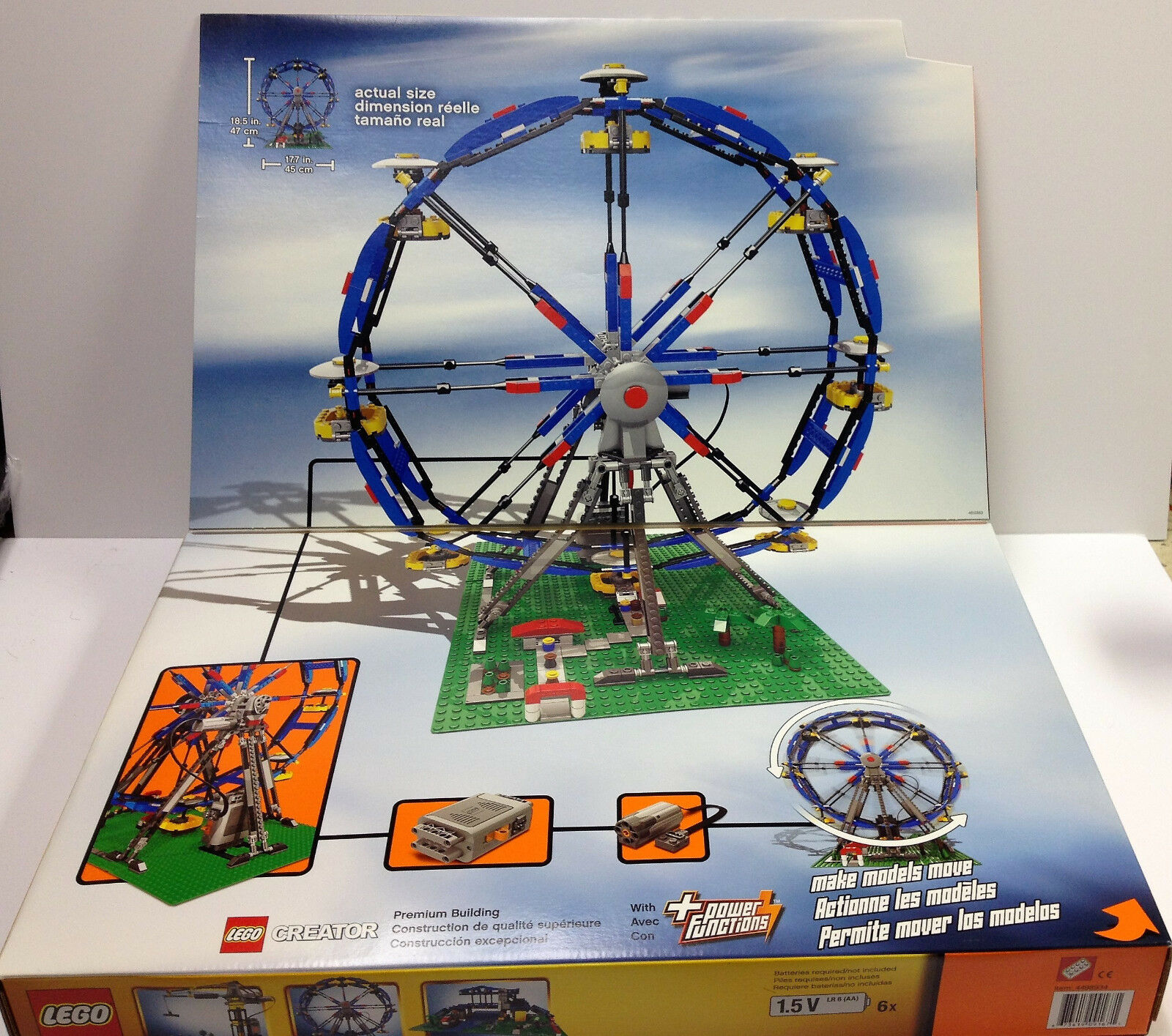 Lego Creator    Motorized Ferris Wheel NEW MINT Condition Sealed d7da8b