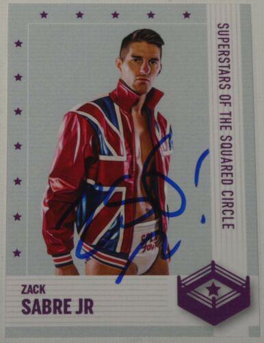 Zack Sabre Jr Signed Superstars Card #18 New Japan Pro Wrestling WWE Autograph