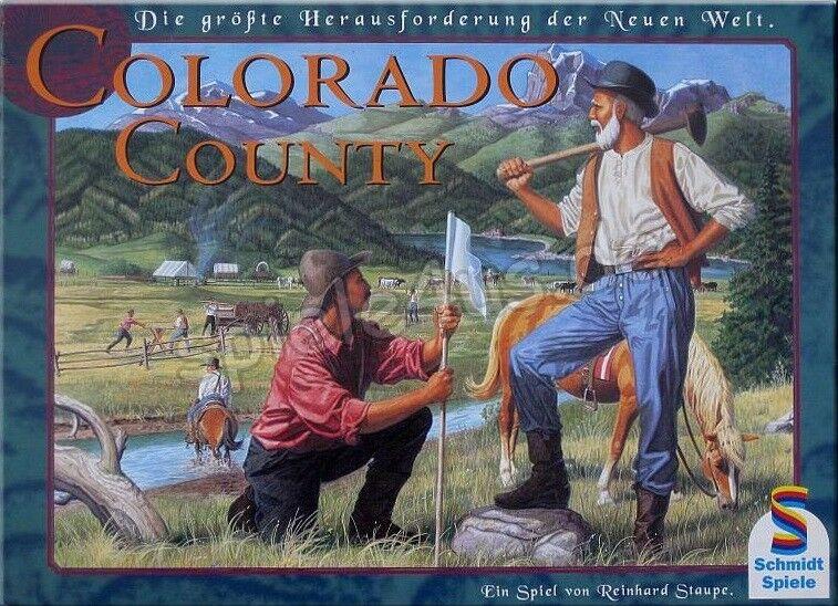Jeu de société colorado County - Neuf, juste déballé - Allemand - Schmidt Spiele