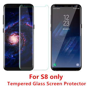 3-12PCS Lot Premium Tempered Glass Screen Protector For Samsung Galaxy S8 CLEAR