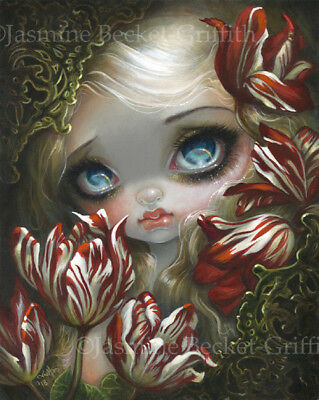 Jasmine Becket-Griffith art print SIGNED Queen of Bees rococo pop honey princess