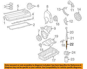 beetle engine diagram vw volkswagen oem 98 06 beetle engine parts tube 06d103634e ebay volkswagen beetle engine diagram vw volkswagen oem 98 06 beetle engine