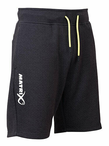 Free Delivery Matrix Minimal Black Marl Jogger Shorts *New 2019*