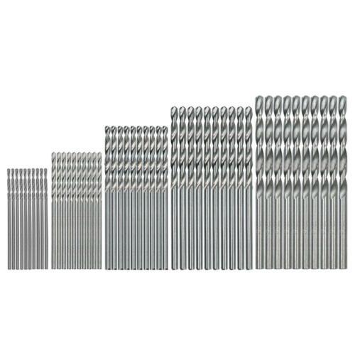 10-200PCS HSS Cobalt Twist Drill Bits For Hard Metal Stainless Steel  0.5mm-4mm