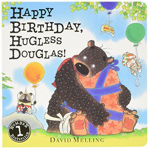 Happy Birthday, Hugless Douglas! di Melling, DAVID LIBRO SU CARTONCINO 978144492