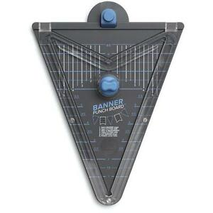 We-R-Memory-Keepers-Banner-Punch-Board-1-Seller-New-662565-Free-Shipping