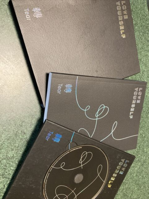 Love Yourself: Tear (CD, 2018)  BTS With Slipcover And Book 🤩 Ver R Free Ship